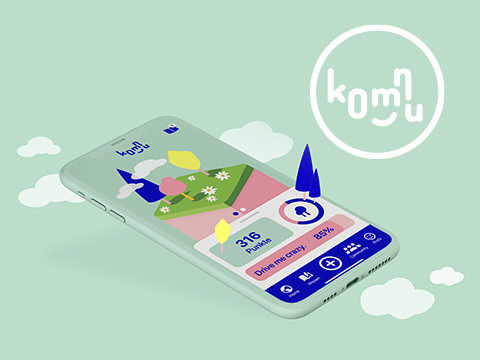 komnu – App Konzept & UX/UI Design